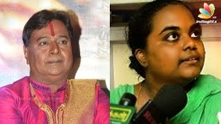 Dancer Shiv Shankar complained to Jayalalitha about Daughter-in-law, threatened & defamed him