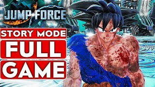 JUMP FORCE Gameplay Walkthrough Part 1  Story Mode FULL GAME [1080p HD Xbox One X] - No Commentary