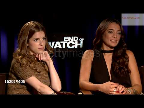 "Anna Kendrick & Natalie Martinez Discuss Their Characters for ""End Of Watch""-Interview"