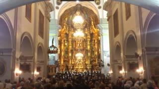 SALVE MARINERA (FRAGMENTO). Coro Fundacion Princesa Asturias. Iglesia del Carmen. Cádiz 30.04.15