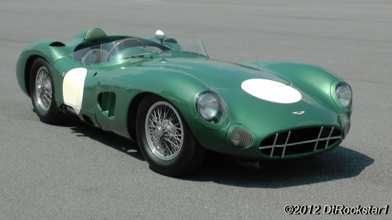 ferrari beaters aston martin dbr1 youtube. Black Bedroom Furniture Sets. Home Design Ideas