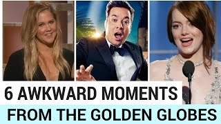 6 Most Awkward Moments at the 2017 Golden Globes!