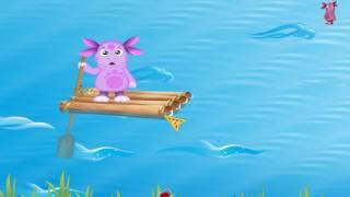 Лунтик - Реки и водопады. Обучающий мультфильм для детей.