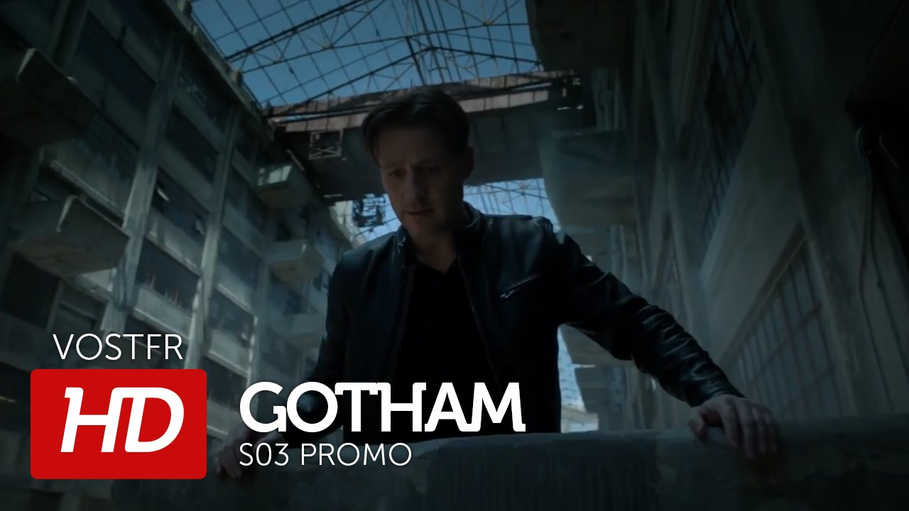 gotham s03 promo vostfr hd youtube. Black Bedroom Furniture Sets. Home Design Ideas