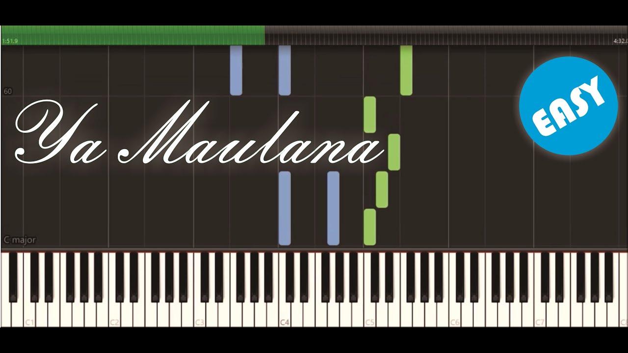 Ya Maulana Sabyan Piano Tutorial Youtube