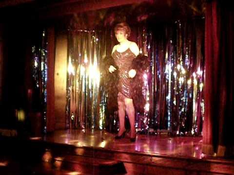 Cybil Duvuax On Stage At The Flying Handbag Blackpool Youtube