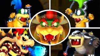 New Super Mario Bros 2 - All Castle Bosses