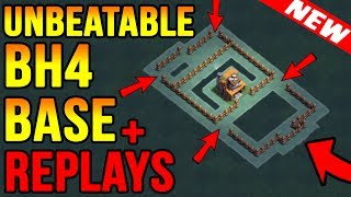 Best Builder Hall 4(BH4) Base Unbeatable Base Layout Anti 1 Star | Clash of Clans New Update 2017