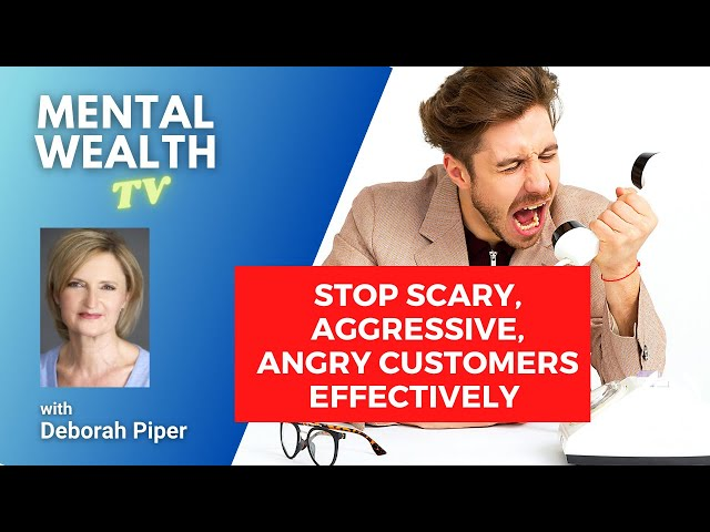 Tips on How to Deal Effectively with Scary, Angry and Aggressive People at Work