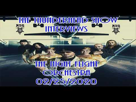 Exclusive Interview with David Of The Night Flight Orchestra & Soilwork On The Thunderhead Show