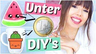 UNTER 1 Euro DIY's 💪🏻 | ViktoriaSarina
