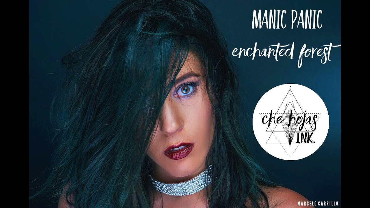 Conosciuto Enchanted Forest from manic panic on unbleached hair - YouTube DN48