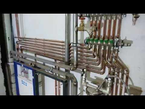 Водопровод коллекторный в квартире на Иркутской 5, г. Омск