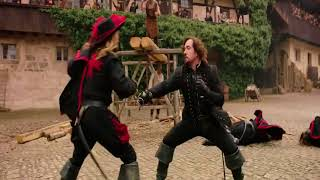 fight scene from The Three Musketeers 2011