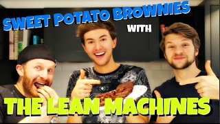 SWEET POTATO BROWNIES W: THE LEAN MACHINES || MARK FERRIS