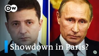 Zelensky, Putin face off in Paris: What's at stake? | DW News