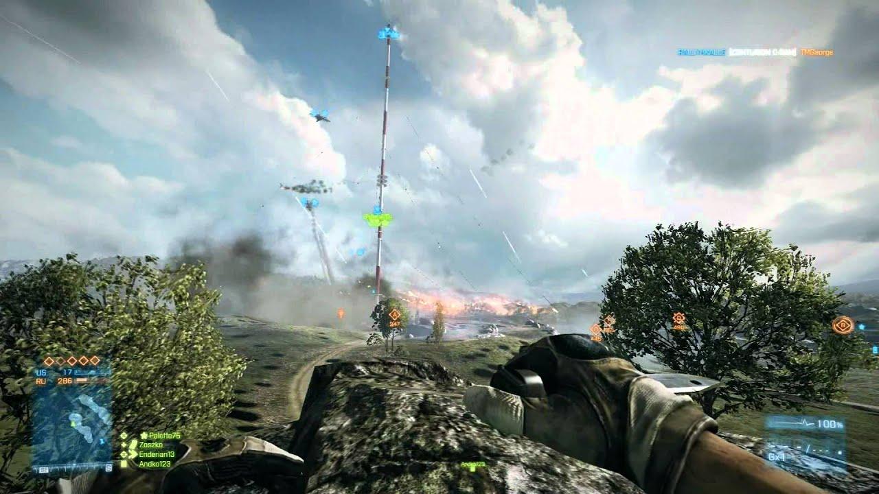 Battlefield 3: How To Destroy Antenna On Caspian Border