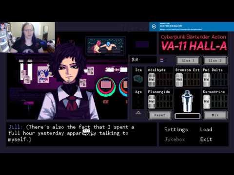 VA-11 Hall-A: Cyberpunk Bar Tendering Fiaura