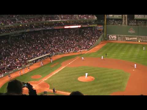 Jonathan Papelbon Boston Red Sox Intro Dropkick Murphys Fenway Park 2009