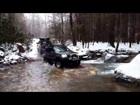Peach State Overland Goes To Windrock Jan 2016