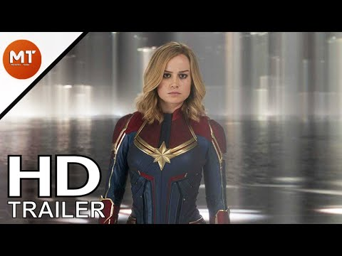 Captain Marvel Movie (2019) Brie Larson Teaser Trailer [Fan-Made]