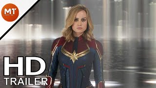 Captain Marvel Movie 2019 BRIE LARSON Teaser Trailer Fan Made