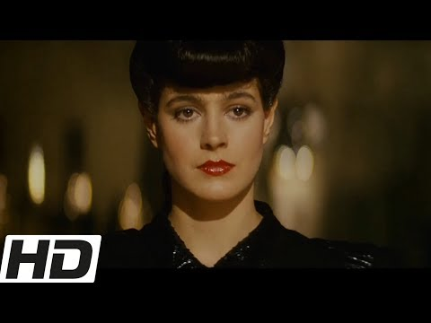 Blade Runner (1982) CLIP - Deckard Meets Rachael (HD) Harrison Ford Movie