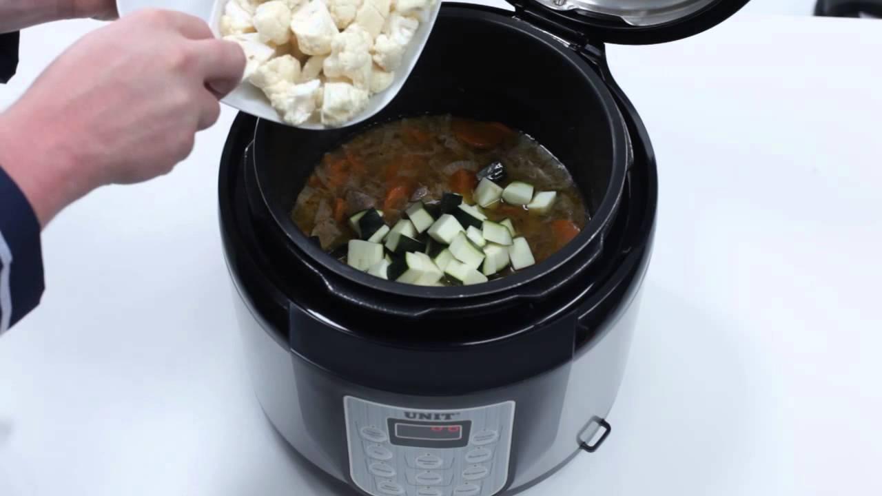рецепты супов в unit 1210s