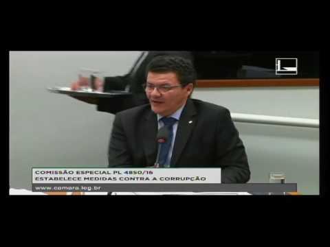 PL 4850/16 - ESTABELECE MEDIDAS CONTRA A CORRUPÇÃO - Reunião Deliberativa - 10/08/2016 - 09:51