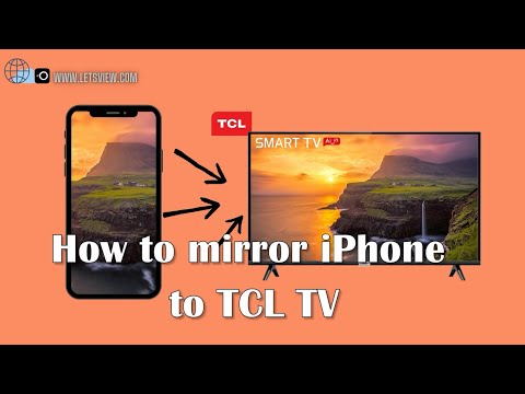 How to Mirror iPhone to TCL TV