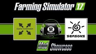 Mod Showcase  Seasons Display and Game Extention Farming Simulator 17 Eustace Pharmer