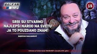 INTERVJU: Radovan Damjanović - Srbi su najlepši narod na svetu, ja to pouzdano znam! (25.12.2019)