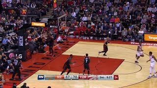 3rd Quarter, One Box Video: Toronto Raptors vs. New York Knicks
