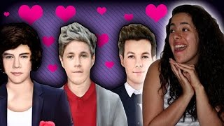 DATING ONE DIRECTION!! |1Dream Boy 2 (with play link)