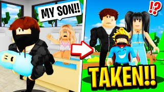 I got KIDNAPPED AT BIRTH in Roblox BROOKHAVEN RP!!