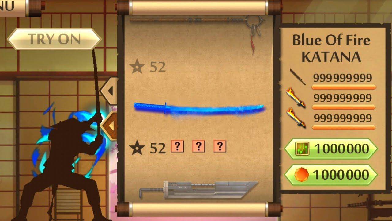 แจกโปรเกม Shadow Fight 2 MOD Blue Of Fire Katana +Link/มีลิ้งโหลด   ล่าสุด   โคตรโกง