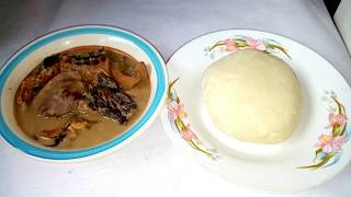 How to Prepare Pounded Yam... (The Native Way)