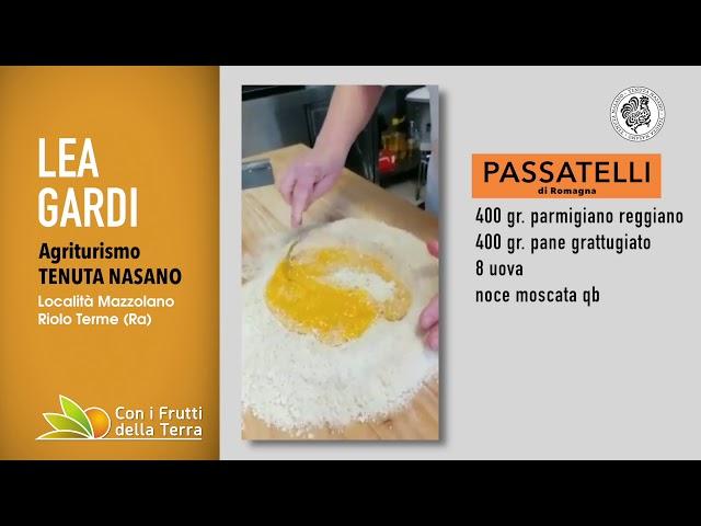 Puntata del 5/4/20 – 4° parte – I passatelli di Romagna