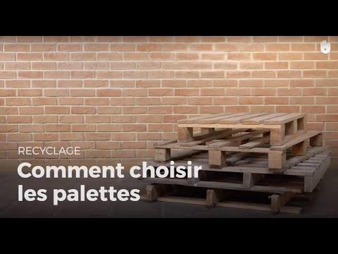 Fabriquer Une Etagere Simple En Bois De Palette Recycler