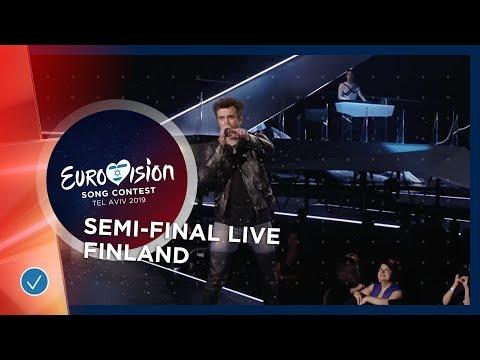 Finland - LIVE - Darude Feat. Sebastian Rejman - Look Away - First Semi-Final - Eurovision 2019