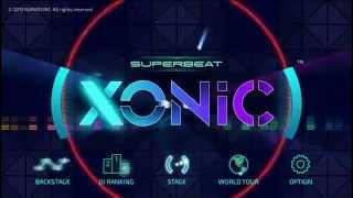 SUPERBEAT: XONiC Vita Gameplay