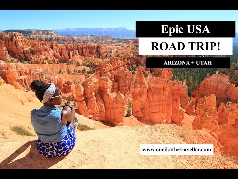 How to do a USA Road Trip: Arizona + Utah National Parks!