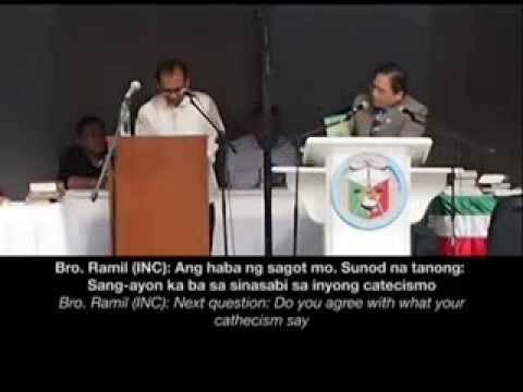 Iglesia Ni Cristo vs. Catholic Debate at Dmgt. City (subtitles 1)