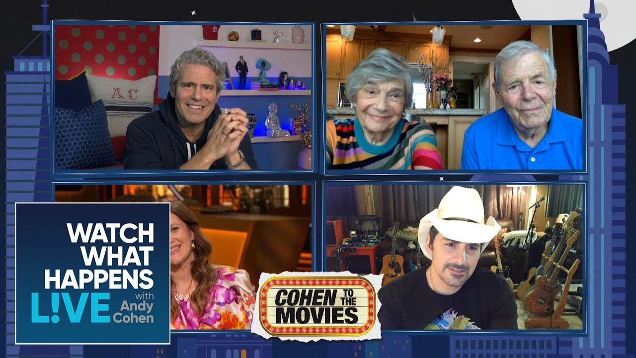 Brad Paisley Guesses Famous Drew Barrymore Movies | WWHL