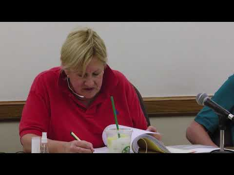 Township of Riverside Board of Trustees Budget Hearing 05-08-18