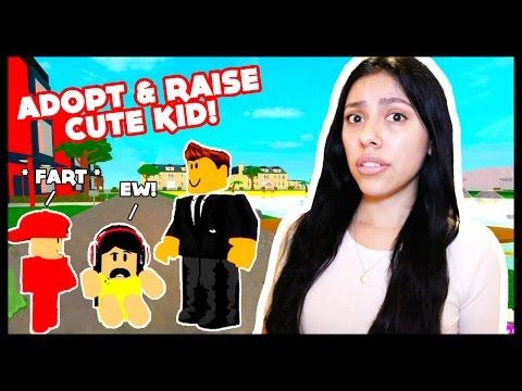 ADOPT AND RAISE A CUTE KID! - Roblox -  FINDING MOM A BOYFRIEND!