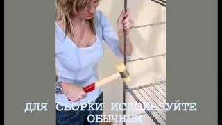 Домашние стеллажи - соберет даже домохозяйка!(Системы хранения вещей, наполнение для шкафов-купе, стеллажи для дома http://www.sdelai-sam.com/, 2011-07-06T06:24:35.000Z)