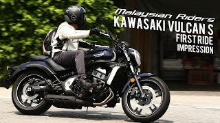 2015 Kawasaki Vulcan S: First Ride Impression -- Ep.1(2015 Season is here with the first episode on the Kawasaki Vulcan S during it's Malaysia's Press Introduction which was held in Tambun, Perak. The film was ..., 2015-04-28T13:58:37.000Z)
