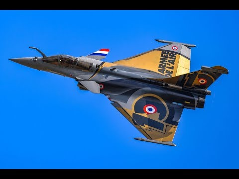 RAFALE SOLO DISPLAY Air Legend 08 Sept 2019