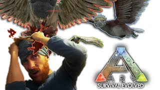 The Eagle has landed... on MY FACE!! :: ARK: Survival Evolved :: Solo Highlights